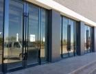 供应 天津市玻璃门,定制做刷卡玻璃门