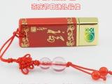 中国红瓷U盘 陶瓷套装礼品U盘 节日喜庆促销活动礼品USB专门定