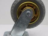 河南4 5 6 8寸塑料白尼龙橡胶万向工业脚轮生产厂家