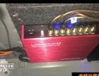 宝马525音响三分频改装方案 功放 处理器 氛围灯