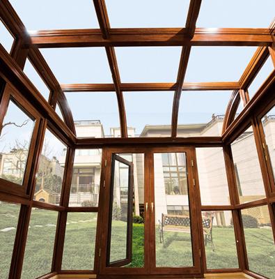 洛阳定制断桥铝门窗封阳台,露台阳光房设计报价?