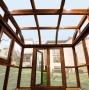 洛阳露台阳光房,30年不变形不生锈,抗强风,隔热断桥铝结构