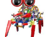 LOZ俐智 A0018大眼机器人益智拼装积木玩具 diy玩具 益