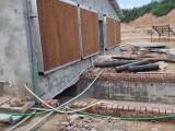 广东工业排气扇安装厂家直销养殖场降温水帘墙流水通风机