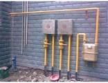 上海浦东湖南路天然气管道改装 煤气表移位