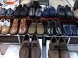 工厂低价品牌外贸真皮男鞋外贸鞋库存鞋样版