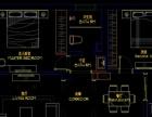 私人室内设计 量房 平面 施工图 CAD