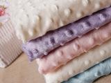 厂家直销新款针织压泡超柔绒布 现货批发经编绒布面料 时装面料