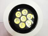 厂家直销 LED天花灯7W LED防眩光天花射灯 LED射灯