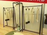 欧式品牌男女服装店展示架衣架落地式挂衣服架子正挂侧挂壁挂货架