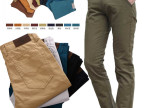 男装休闲裤男夏季薄料韩版潮修身型直筒男士纯色纯棉青少年长筒裤
