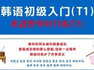 重庆专业韩语培训 番西教育 基础入门课程-T1