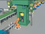 厦门三维机械动画 工艺流程动画 产品演示动画