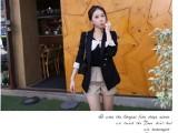 外贸2014欧美新款复古淑女蕾丝小西装 休闲外套塑身西装女式51