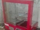 几乎全新玻璃保温柜便宜出了