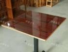 低价出售压板多用桌、简约长方形餐桌、餐饮行业桌