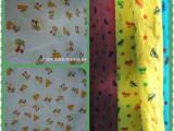 批发库存布料 库存纺织品 童装全棉针织印花  莱卡印花大布头