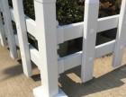 成都温江泰和新光华府草坪绿化PVC栏杆