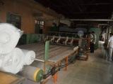 二手硬质棉生产线、直立棉、七成新
