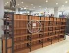 广东柜人铁木结合超市货架定制