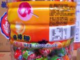 【批发】 儿童棒棒糖  水果棒棒糖 桶装棒棒糖