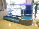 承接大型水族工程海鲜池设计定做建造安装维修等等