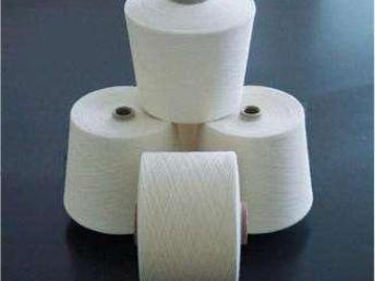 生产气流纺纯涤纱16支针织高强