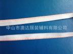 撞色全棉间色带 棉织带 染色织带 涤纶带.横纹带 平纹带 坑纹织带