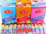 不二家大棒棒糖28支盒装儿童硬水果糖果休闲零食品特价批发