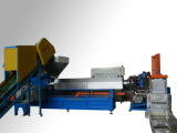 宁波塑料造粒机 双螺杆挤出造粒机 水环切挤出造粒机