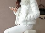 实拍冬款女装外套 加厚羽绒棉衣服狐腮毛领 修身短款棉衣潮女冬