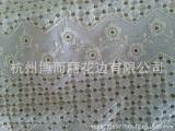 【诚信商家】供应纺织棉布绣花 服装棉布打孔 镂空绣花布
