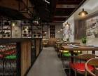 重庆餐饮门面装修设计 餐饮店装潢设计 餐饮装饰装修找爱港装饰