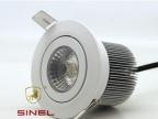 高品质 耐用 带透镜 COB光源LED射灯 防眩光 新款厂家直发