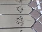 贵州黔南 来样定制6月份玻璃拼镜背景墙 艺术拼镜背