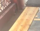 土灶传统长木凳