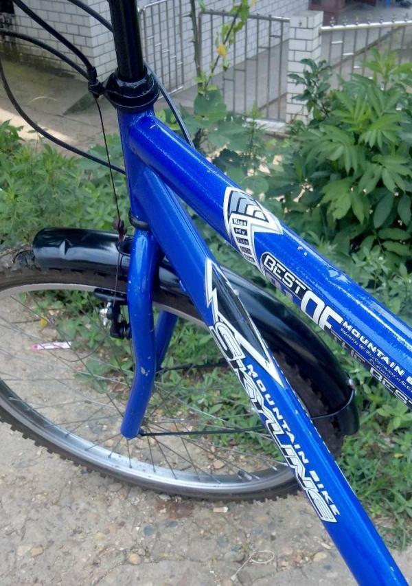 带后座的山地自行车转让图片