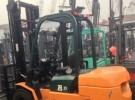 潜江二手3吨物流专用叉车/升高4米搬运叉车2年0.2万公里2.5万