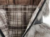 免费分销代发 时尚狐狸毛 粗跟高跟短靴时