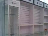 仓储、超市货架 医药展柜 柜台钛合金木质展示柜柜台