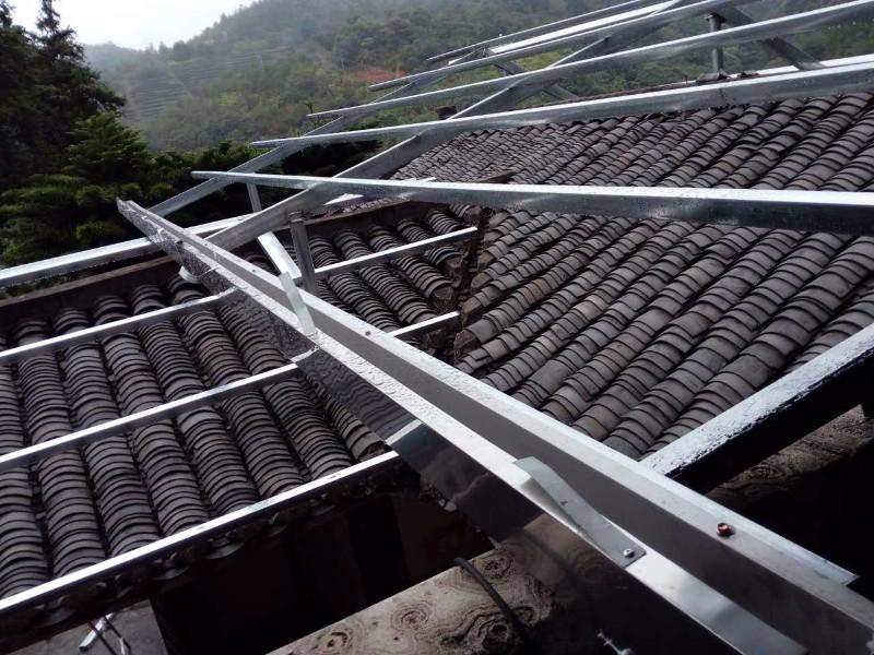 专业铁皮瓦搭建工程