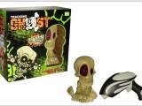 新奇特玩具骷髅头 儿童电动玩具 带音乐灯光促销礼品玩具