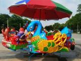 旋转飞椅和旋转木马的升级改进型产品秋千动物儿童游乐设备