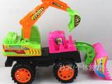厂家直销 儿童大号仿真滑行工程车 玩具工