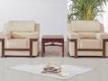 重庆直销三人位简约现代办公室沙发 真皮办公沙发 办公家具厂家