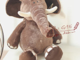 正版NICI大象公仔 大象毛绒玩具 长鼻象 情侣生日礼品礼物