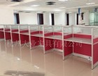 杭州厂家直销 办公桌简约4人位 现代办公桌4人工作位带柜子