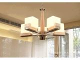 美式橡木吊灯质头实全原木吸顶灯田园现代风格简约客厅卧室灯