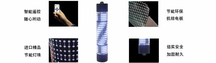 彩色长寿命美发LED转灯制造商