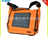 深圳厂家订做单肩电脑包太阳能手机数码充电